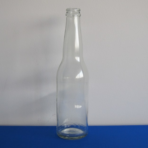 33cl Clear beer bottle