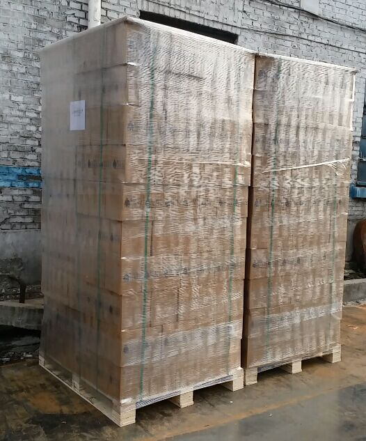 Carton with pallet packing(Case Pack)-glass bottles manufacturer packing