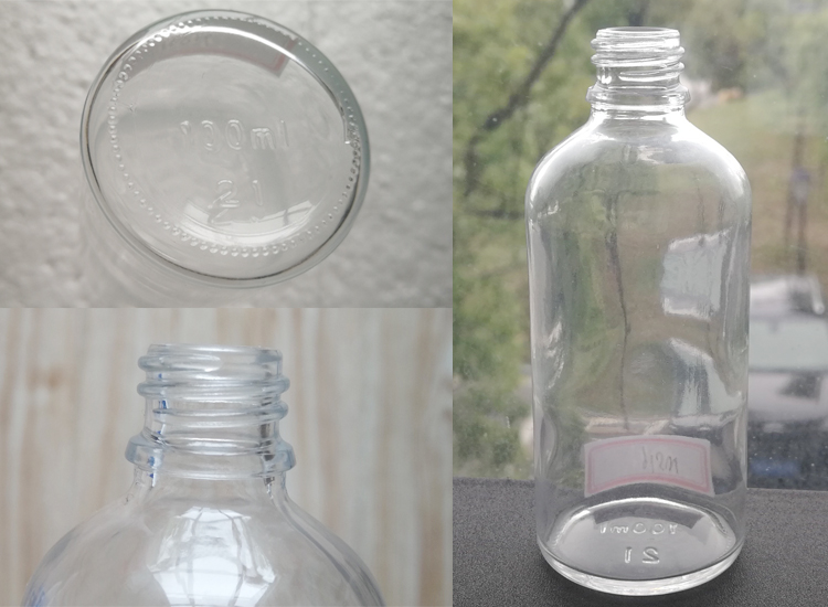 100ml glass bottle